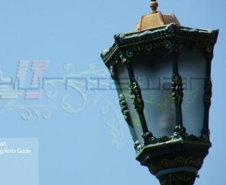 Lampu Masjid Agung Kota Gede